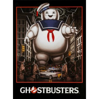 Ghostbusters Vers 2 movie film metal tin sign poster plaque