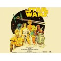 Star Wars movie film metal tin sign poster plaque