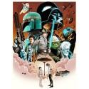 Star Wars Empire strikes back  movie film metal tin sign poster plaque