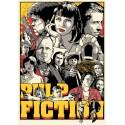 Pulp Fiction movie film metal tin sign poster plaque