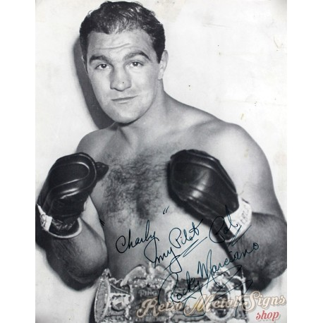 rocky-marciano-boxing-metal-sign