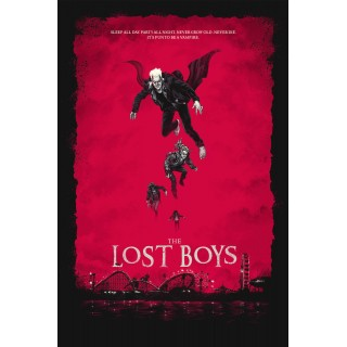The Lost Boys  movie film metal tin sign poster plaque