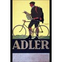Adler Bicycle vintage metal tin sign wall plaque
