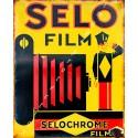 Selo Film Selochrome vintage advertisement  metal tin sign poster