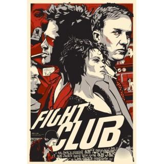 fight-club-brad-pitt-movie-film-tin-sign