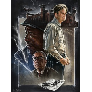 The Shawshank Redemption movie film metal tin sign poster plaque