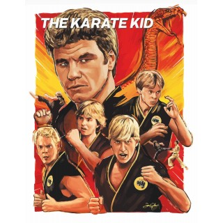 The Karate Kid movie film metal tin sign poster plaque