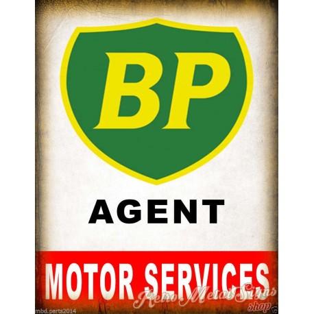 bp-agent-vintage-garage-metal-tin-sign