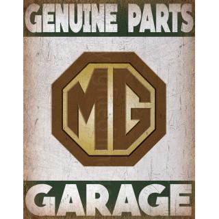 mg-genuine-parts-garage-metal-tin-sign