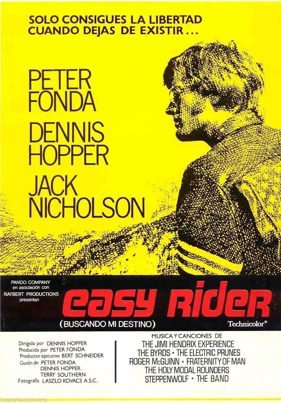 essay on the movie easy rider Nobody went to see easy rider (1969) only once irreverent personality and were primed for his next film, five easy pieces (1970), with its immortal chicken salad sandwich dialogue this essay is based on my 1994 re-review of the film.