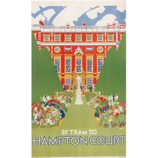 london-underground-hampton-court-1927-metal-sign