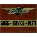 Alpino Motorcycles Vintage garage workshop metal tin sign