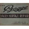 Glas-Goggo Scooters Vintage garage workshop metal tin sign