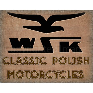 wsk-motorcycle-tin-sign