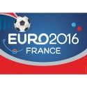 Euro 2016 football  metal tin sign poster wall plaque