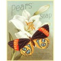 Pears  Soap vintage bathroom metal tin sign poster wall plaque