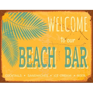 welcome-to-our-beach-bar-vintage-pub-tin-sign