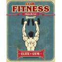 Elite Gym Man Cave Pub Gym Bar metal tin sign wall plaque