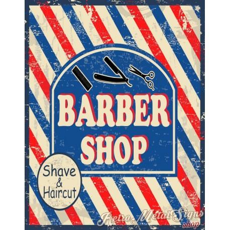 barber-shop-shave-haircut-vintage-metal-sign