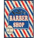 Barber Shop Shave&Haircut vintage barber metal tin sign poster