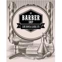 Barber Shop Classic Cuts vintage barber metal tin sign poster