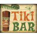 Tiki Bar vintage pub bar tavern metal tin sign