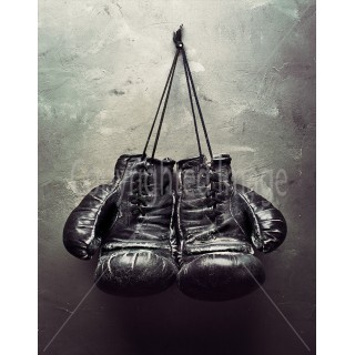 boxing-gloves-metal-sign