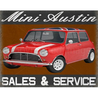 austin-mini-sales-service-vintage-metal-sign