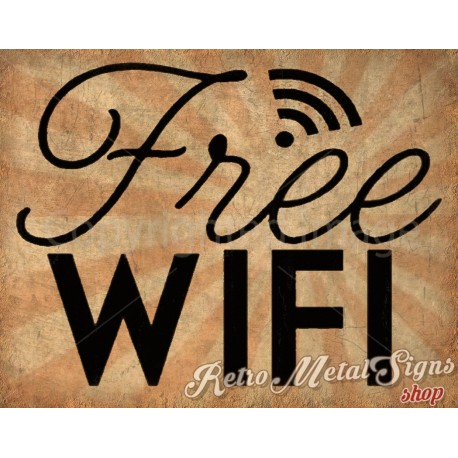 free-wifi-vintage-style-bar-pub-club-tin-sign