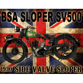 bsa-sloper-sv500-motorcycle-vintage-metal-tin-sign