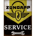 Zundapp Motorcycles Service Vintage garage metal tin sign
