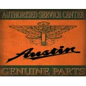 Austin Service  vintage garage metal tin sign wall plaque