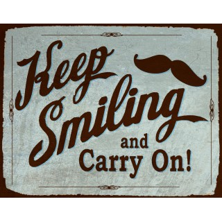 keep-smiling-and-carry-on-tin-sign