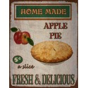 Homemade Apple Pie vintage food metal tin sign poster wall plaque