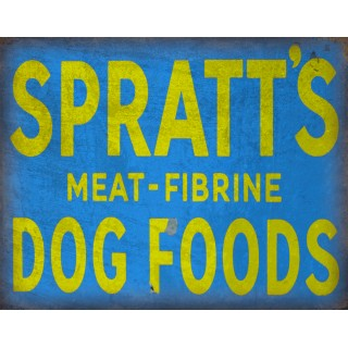spratts-dog-food-vintage-metal-sign