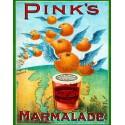 Pink's Marmalade  American food metal tin sign poster