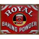Royal Baking Powder American food metal tin sign poster