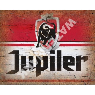 Jupiler Belgian Beer vintage alcohol metal tin sign poster