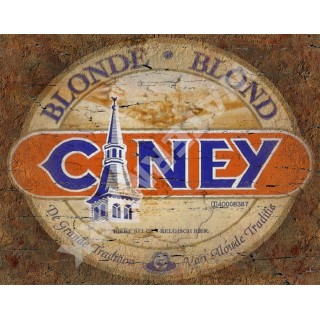 Ciney Belgian Beer vintage alcohol metal tin sign poster