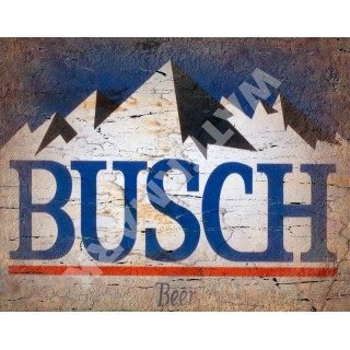 Bush  Belgian Beer vintage alcohol metal tin sign poster