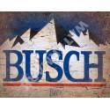 Bush  Belgian Beer vintage alcohol metal tin sign poster