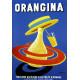 Orangina vintage drink metal tin sign poster plaque