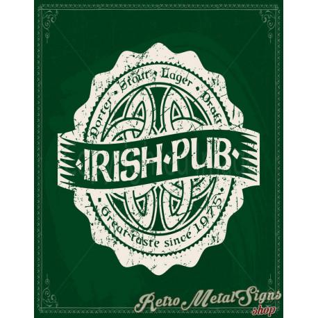 Irish  Pub  vintage alcohol metal tin sign poster