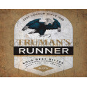 Truman's Runner Beer vintage pub bar metal tin sign wall plaque