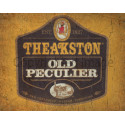 Theakston Old Peculier Beer  vintage pub bar metal tin sign wall plaque