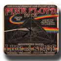 Pink Floyd 1972 Concert metal tin sign wall clock