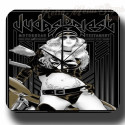 Judas Priest  metal tin sign wall clock