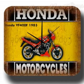 Honda VF400F 1983  motorcycle  metal tin sign wall clock