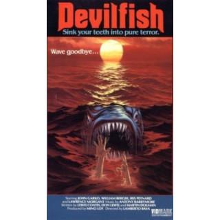 Devil Fish  movie film metal tin sign poster plaque