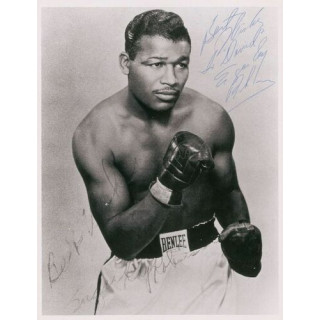 Sugar Ray Robinson   boxing metal tin sign wall plaque